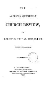 the american quarterly church review