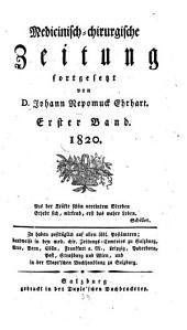 Medicinisch-chirurgische Zeitung: 1820, 1