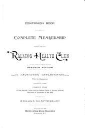 Companion Book of Complete Membership in the Ralston Health Club