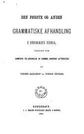 Islands grammatiske litteratur i middelalderen ...
