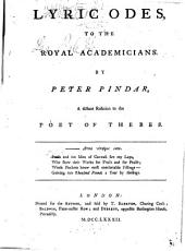 Peter's Prophecy, Or, The President and Poet, Or, An Important Epistle to Sir J. Banks, on the Approaching Election of a President of the Royal Society