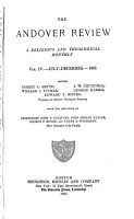 The Andover review  eds  E C  Smyth  and others   PDF