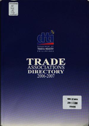 Trade Associations Directory