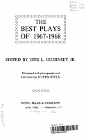 The Best Plays of 1967 1968 PDF