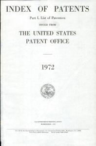 Index of Patents Issued from the United States Patent Office PDF