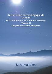 Petite faune entomologique du Canada: Les coléoptères