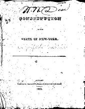 Constitution of the State of New-York