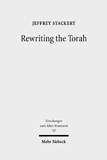 Rewriting the Torah Book