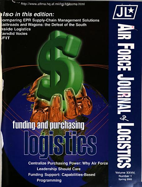Air Force Journal of Logistics