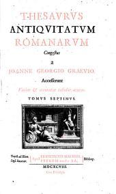 Thesaurus antiquitatum romanarum: Tomus septimus