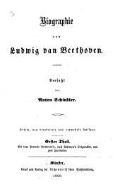 Biographie von Ludwig van Beethoven: I.Teil