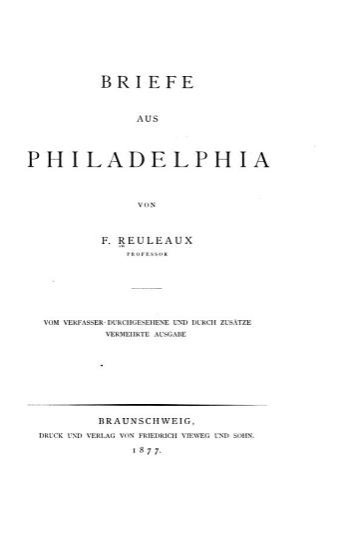 Briefe aus Philadelphia PDF