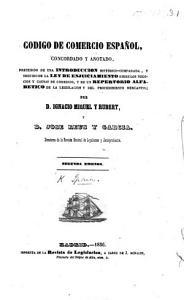 C  digo de comercio  decretado     en 30 de Mayo de 1829  Edicion oficial PDF