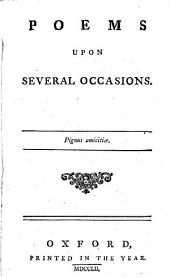 Poems upon several occasions