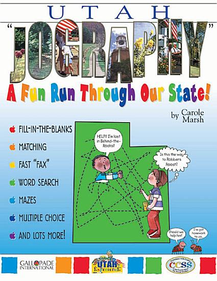 Utah  Jography   A Fun Run Through Our State  PDF