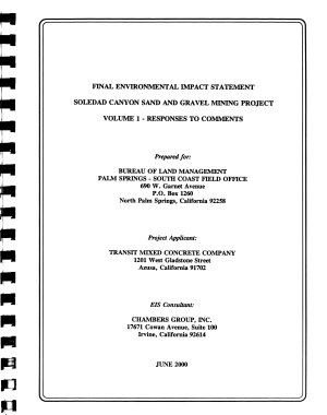 Soledad Canyon Sand and Gravel Mining Project PDF