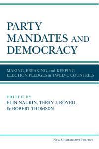 Party Mandates and Democracy PDF