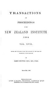 Transactions and Proceedings of the New Zealand Institute: Volume 17