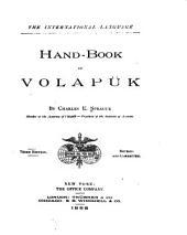 Hand-book of Volapük