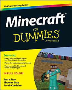 Minecraft For Dummies Book
