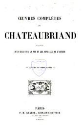 Oeuvres complètes de Chateaubriand: Le génie du Christianisme