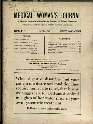 The Woman's Medical Journal