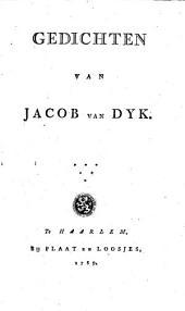Gedichten van Jacob van Dyk