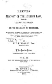 From the reign of Henry III. to the reign of Edward II
