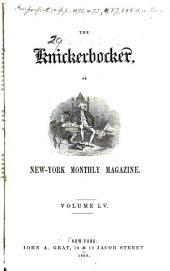 The Knickerbocker: Or, New-York Monthly Magazine, Volume 55