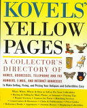 Kovels' Yellow Pages
