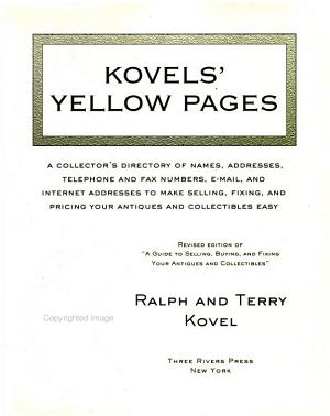 Kovels  Yellow Pages PDF