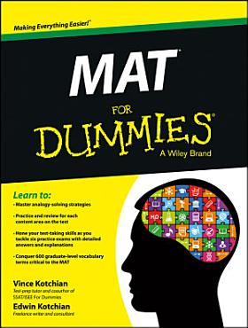 MAT For Dummies PDF