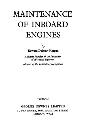 Maintenance of Inboard Engines