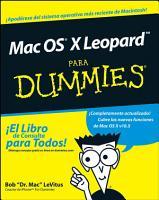 Mac OS X Leopard Para Dummies PDF