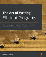 The Art of Writing Efficient Programs PDF