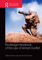 Routledge Handbook of the Law of Armed Conflict PDF