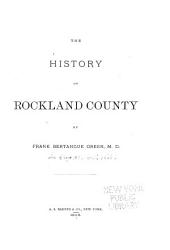 The History of Rockland County