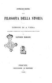 Introduzione alla filosofia della storia