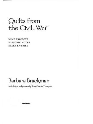 Quilts from the Civil War PDF