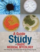 A Guide to the Study of Basic Medical Mycology PDF