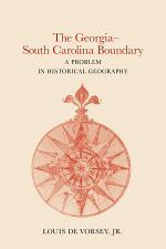 The Georgia-South Carolina Boundary