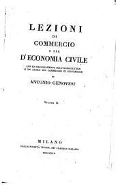 Lezioni di Commercio o sia di Economia civile: Volume 2