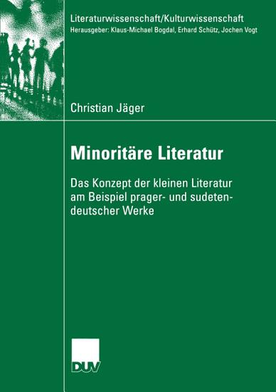 Minorit  re Literatur PDF
