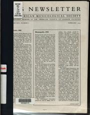 AMS Newsletter PDF