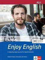 Let's Enjoy English A2.1. Student's Book + MP3-CD + DVD