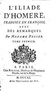 L' Iliade: Volume1