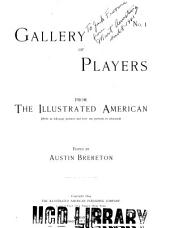 Gallery of Players from the Illustrated American: Volume 1, Issues 1-9