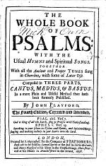 The Whole Book of Psalms ... The Fourth Edition, etc