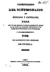 Compendio del confesonario en mexicano y castellano... por un sacerdote del obispado de puebla