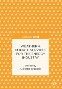 Weather   Climate Services for the Energy Industry